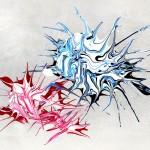 In love: acrylic on aluminum