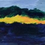 Island: acrylic on canvas